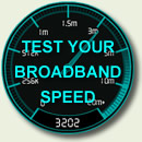 Test your broadband speed